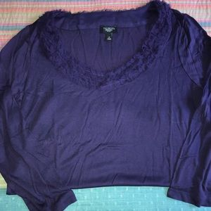 Purple Top from Talbots